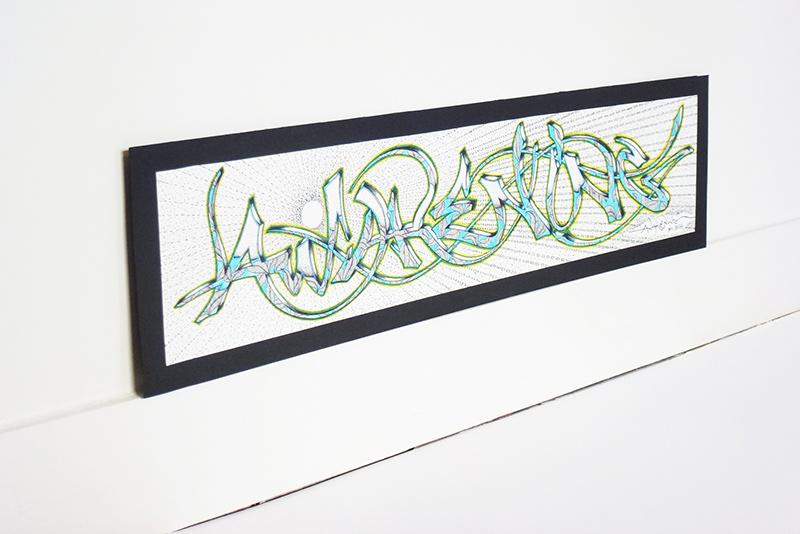 graffiti au feutre