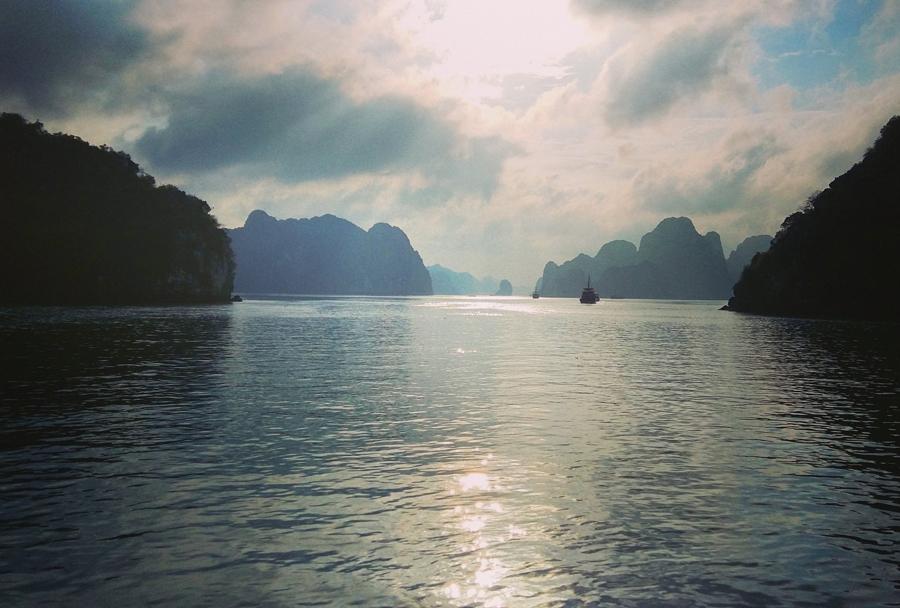 Ha Long Bay Lights, Vietnam