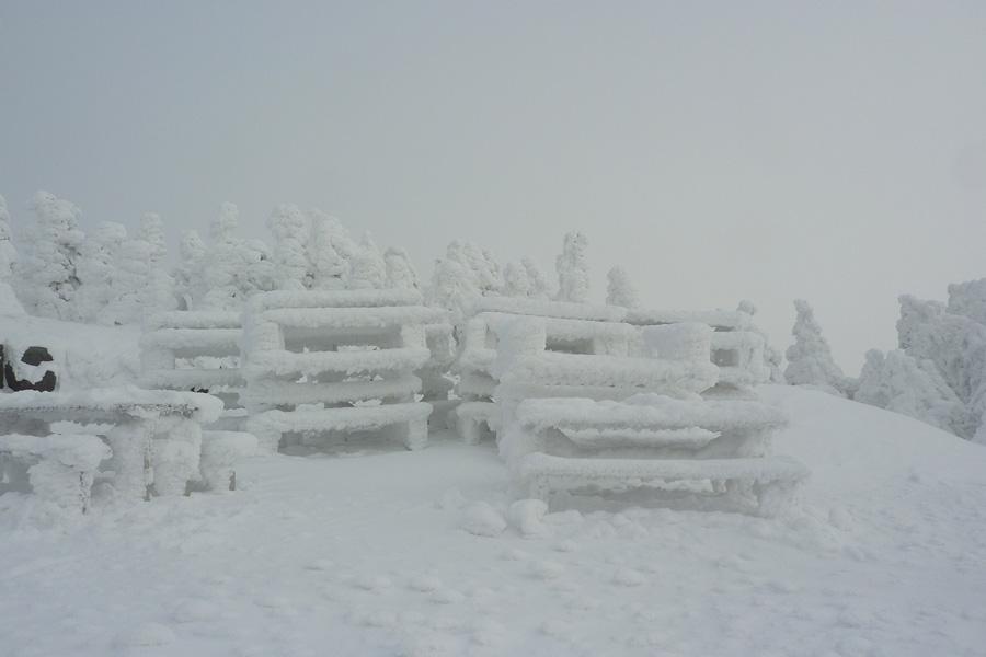 bancs enneigés du Canada, températures extrêmes