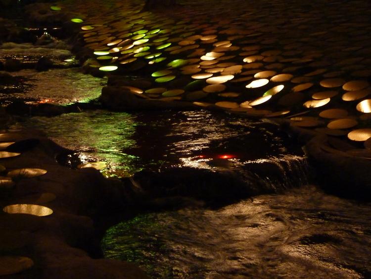 Nuit Blanche au coeur des Buttes Chaumont