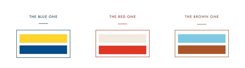 les 3 codes couleurs de l'objet global