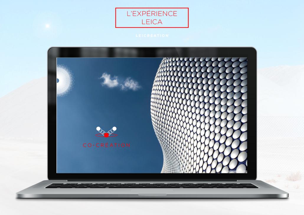nouveau site web pour la marque