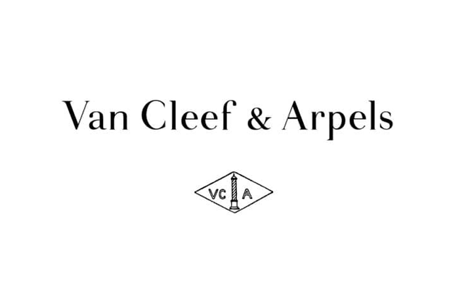 logo de mon client, la marque de luxe VCA
