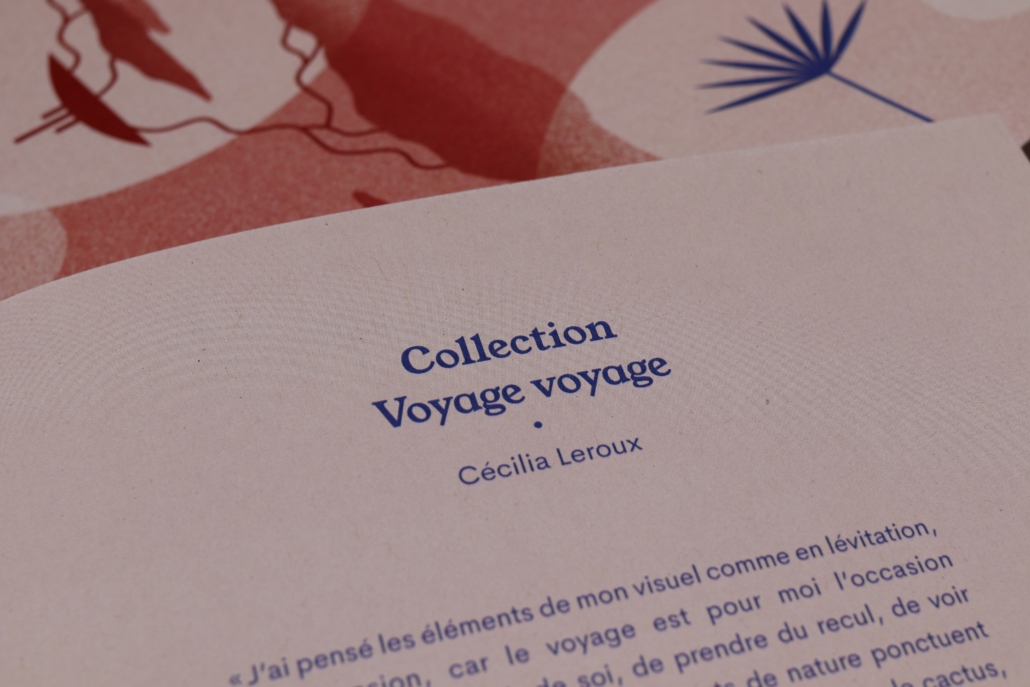 texte d'intérieur du carnet de voyage