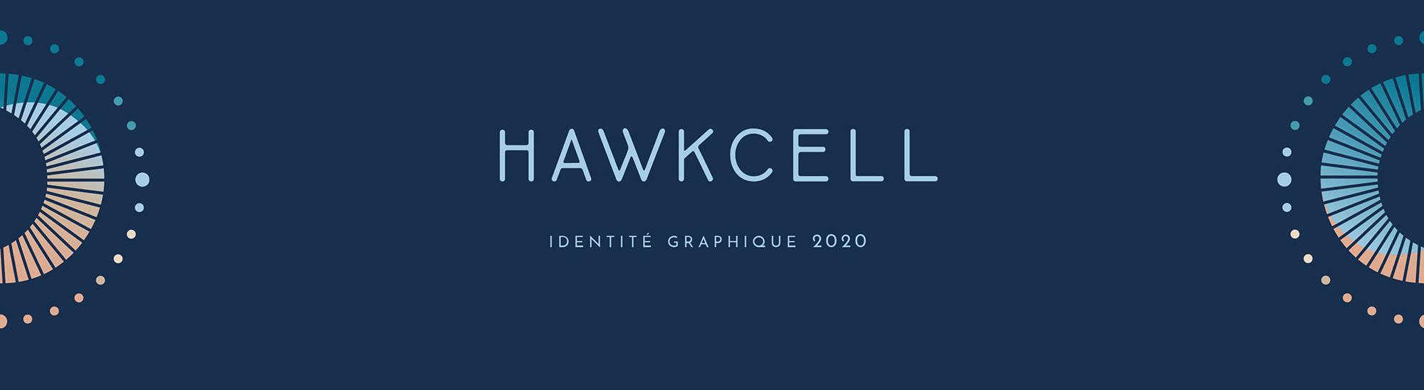 hawkcell, direction artistique et rebranding