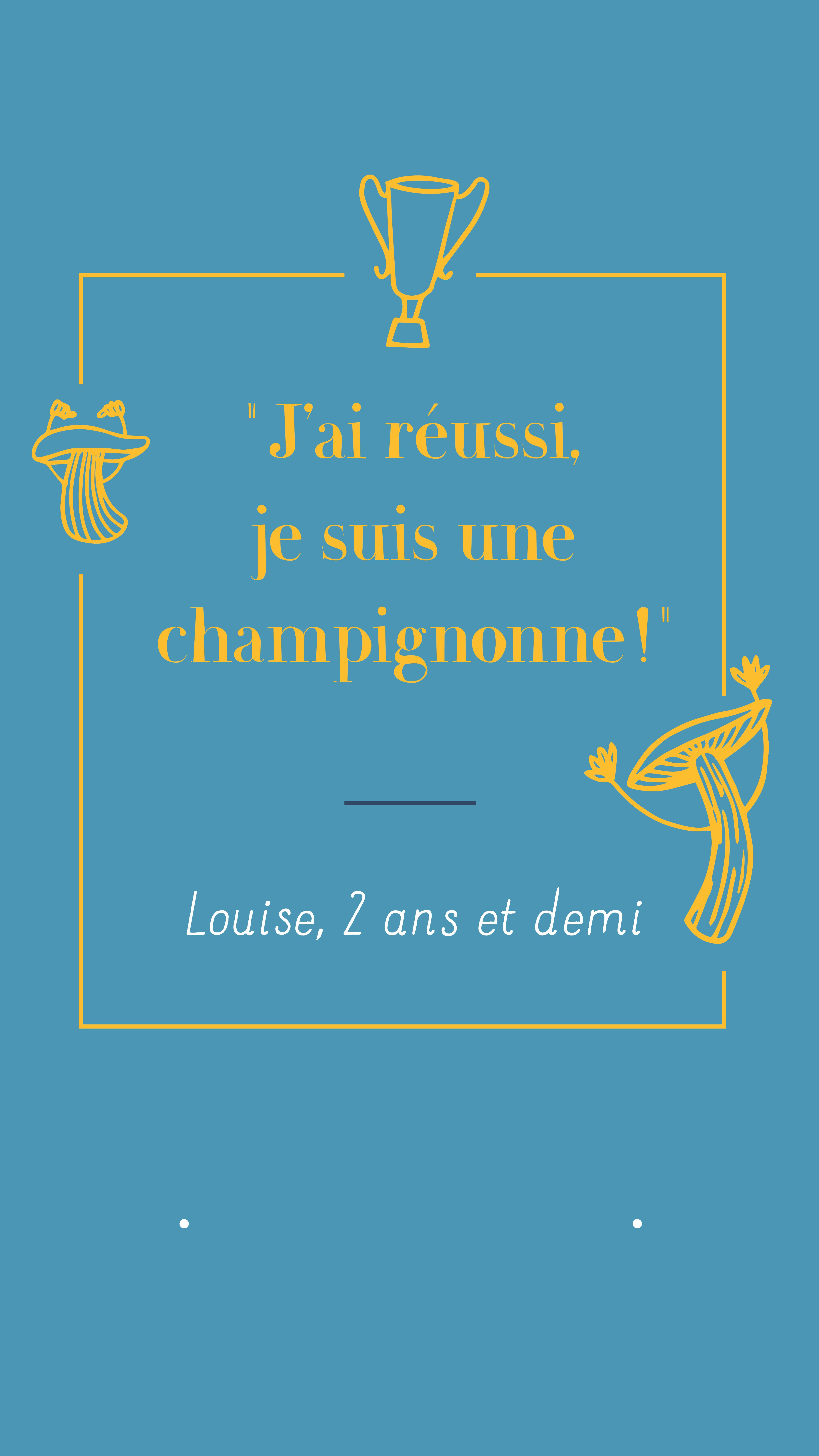 story citation champignonne